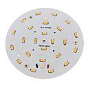 povoljno Stolne svjetiljke-1pc 10 W 800-900 lm 24 LED zrnca SMD 5730 Toplo bijelo 220-240 V / RoHs