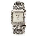 ieftine Colier la Modă-ASJ Pentru femei Ceas Brățară Piața de ceas Japoneză Oțel inoxidabil Argint imitație de diamant femei Casual Elegant - Alb Negru Un an Durată de Viaţă Baterie / SSUO SR626SW