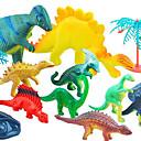 povoljno Muški satovi-Akcijske figurice Építőjátékok Dinosaur Guma Pliš Dječaci Djevojčice Igračke za kućne ljubimce Poklon