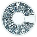 1 pcs Nail Jewelry Rhinestones Lovely nail art Manicure Pedicure Daily Fruit / Flower / Abstract / Acrylic / Cartoon / Punk