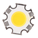 ieftine LED-uri-zdm® 1pc de înaltă performanță led / cob cald alb 280-320 lm luminos / bulb accesoriu corp silicon complet / sârmă de aur pur a condus led chip 3 w