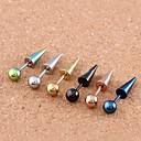 ieftine îndreptare și Irons plate-Pentru femei Bijuterii de corp Piercing Ureche Teak Costum de bijuterii Pentru Zilnic / Casual 1.2*0.2*0.1 cm Vară