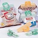 ieftine Stocare și Organizare-2 buc de plastic puternic sac de alimente clip clip proaspete gustare alimente sac de ambalare sealer