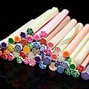 ieftine Seturi pentru Decorațiuni-50 pcs Încântător Pentru deget nail art pedichiura si manichiura Fructe / Floare / Abstract / Desen animat / Punk