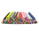 ieftine Artă Ștrasuri Colorate-50 pcs Fruit Fimo Slices nail art pedichiura si manichiura Zilnic Abstract / Modă