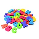cheap Math Toys-36 Pieces Munchkin Bath Learn Letters & Numbers Stick on Baby Bathroom Toy