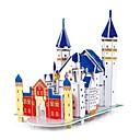 رخيصةأون جهاز فيديو DVR للسيارة-تركيب خشبي النماذج الخشبية قصر ورقة EPS للصبيان للفتيات ألعاب هدية