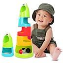 رخيصةأون لعب-كومة اليسروع قوس قزح الطفل في الأطباق البلاستيك كتل (لون عشوائي)