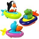 رخيصةأون ملصقات ديكور-الحيوانات قارب نمط لعب المياه bathtime مجداف الطفل (لون عشوائي)