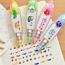povoljno Držači za olovke i fascikli-pritisnite tipa DIY dekorativna traka (slučajan odabir boje)