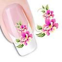 povoljno Šminka i njega noktiju-1 pcs 3D Nail Naljepnice Naljepnica za prijenos vode nail art Manikura Pedikura Cvijet / Vjenčanje / Moda Dnevno / 3D naljepnice za nokte