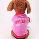 رخيصةأون جسم السيارة الديكور والحماية-كلب T-skjorte ملابس الكلاب كوستيوم قطن الكوسبلاي XS S M L