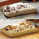 رخيصةأون مستلزمات وأغراض العناية بالكلاب-Large Dog Pet Nest with Lamb Suede Mat  70*50