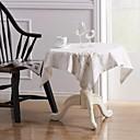 رخيصةأون شرشفات الطاولة-معاصر كتان مربع قماش الطاولة منديل منقوشة الجدول ديكورات 5 pcs