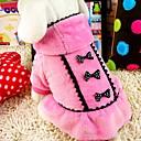 povoljno Muški satovi-Pas Kaputi Zima Odjeća za psa Crn Pink Kostim Terilen Pamuk XS S M L XL