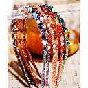 ieftine Bijuterii de Păr-Pentru femei Fete femei Elegant Strălucitor Cristal Cristal Austriac Aliaj Cordeluțe Petrecere Zi de Naștere