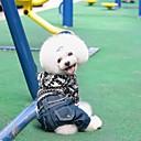 رخيصةأون مصابيح أعمال صيانة السيارات-كلب المعاطف سترة الشتاء ملابس الكلاب أسود بني كوستيوم تيريليني قطن XS S M L XL