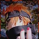 ieftine Costume Cosplay-Naruto Cosplay Peruci de Cosplay Bărbați 14 inch Fibră Rezistentă la Căldură Portocaliu Anime