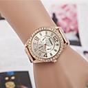 preiswerte Damen Uhren-Damen Uhr Luxus-Armbanduhren Armbanduhr Diamond Watch Quartz Legierung Silber / Gold / Rotgold Analog damas Glanz Modisch Silber Golden Rotgold / Ein Jahr / Ein Jahr / Jinli 377