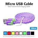 povoljno Punjači za auto-Micro USB 2.0 Kabel Normal PVC USB kabelski adapter Za