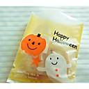 cheap Gifts-5 Pieces Halloween Cute Ghost Long Pumpkin Gift Bag