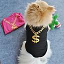 povoljno Muške majice i potkošulje-Mačka Pas T-majica Odjeća za psa Crn Zelen Plava Kostim Terilen Cosplay Vjenčanje XS S M L