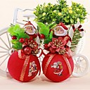 ieftine Decorațiuni-pompoms în picioare Santa pandantiv (culoare aleatorii)