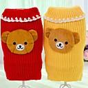 ieftine Imbracaminte & Accesorii Căței-Câine Pulovere Iarnă Îmbrăcăminte Câini Galben Rosu Costume Material amestecat Cosplay XXS XS S M L