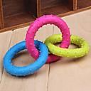 ieftine Breloc-trei buclă de culoare diferită jucării ros cauciuc în formă de pentru câini de companie