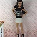 povoljno Muški satovi-Haljina za lutke Party / Večer Za Barbie Čipka Organza Haljina Za Djevojka je Doll igračkama
