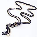 ieftine Colier la Modă-Pentru femei Vintage Colier Șarpe femei stil minimalist Modă Aliaj Albastru Roz Auriu Coliere Bijuterii 3pcs Pentru Zilnic