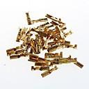 povoljno Dijelovi i dodaci za 3D printer-2.8mm hladno terminala Reed puna bakrena tlak u cjevovodu terminala kabelskog plug opruge s (50pcs)