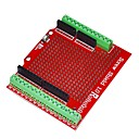 Robotale Proto Screw Shield Assembled Arduino - Red