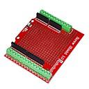 ieftine Carcase iPhone-robotale scut șurub proto asamblate pentru Arduino - rosu