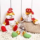 cheap Gifts-Handicraft Santa Claus&Snowman Candy Jar for Christmas(Santa Claus:1#&Snowman:2#)