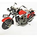 رخيصةأون أساور-الحديد أحمر اللون دراجة نارية نموذج الحرف اليدوية المقالات تأثيث (لون الصورة)