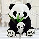 رخيصةأون أقراط-25CM الأم والطفل الباندا لعبة محشوة (أسود&أبيض)