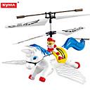 ieftine Baloane-SYMA s2 3CH control de la distanță Pegasus rc elicopter cu copii giroscoapelor cadouri