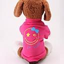 رخيصةأون ملصقات ديكور-كلب البلوزات هوديس الشتاء ملابس الكلاب أخضر أحمر كوستيوم تيريليني قطن أسلوب بسيط لطيف S M L