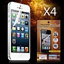 olcso iPhone SE/5s/5c/5 képernyővédő fóliák-Képernyővédő fólia mert Apple iPhone 6s / iPhone 6 4 db Kijelzővédő fólia High Definition (HD)