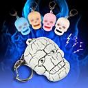 رخيصةأون ألعابالربط-مخيف جمجمة الرأس أدت سلسلة المفاتيح سليم (أكثر الألوان)
