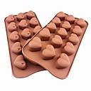 رخيصةأون أدوات الفرن-1PC سيليكون صديقة للبيئة اصنع بنفسك كعكة فطيرة الشوكولاتي الخبز العفن أدوات خبز