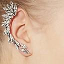 ieftine Cercei-Pentru femei Cătușe pentru urechi Cercei cu spirală femei European stil minimalist Modă Reșină Ștras cercei Bijuterii Argintiu Pentru Zilnic