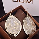Women's Drop Earrings filigree Drop Cheap Statement Ladies Elegant Oversized fancy Earrings Jewelry Gold / Silver Party Special Occasion Birthday Daily