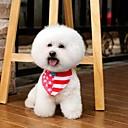 رخيصةأون أساور-كلب ياقة قابل للسحبقابل للتعديل نايلون أبيض / أحمر