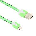 رخيصةأون أندرويد-Micro USB 2.0 / USB 2.0 كابل 2m-2.99m / 6.7ft-9.7ft اخفاف / جديلي نايلون محول كابل أوسب من أجل