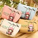 preiswerte Stickers für die Dekoration-Schaukel Mädchen Leinwand Portemonnaie (gelegentliche Farbe)