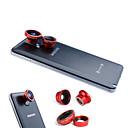 povoljno Maske/futrole za Huawei-3-u-jednom Magnetic 180 ° Fish Eye Lens i širokokutna s 0.67X makro objektiv za Samsung mobitel