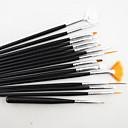 ieftine Alte instrumente-Lemn / Plastic Unelte pentru unghii Perie acrilă pentru unghii Perii de unghii Pentru Pensulă Acrilic Novelty nail art pedichiura si manichiura Cute Stil