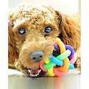 رخيصةأون لعب-الكرات لعبة للكلب حيوانات أليفة ألعاب صرير مطاط هدية